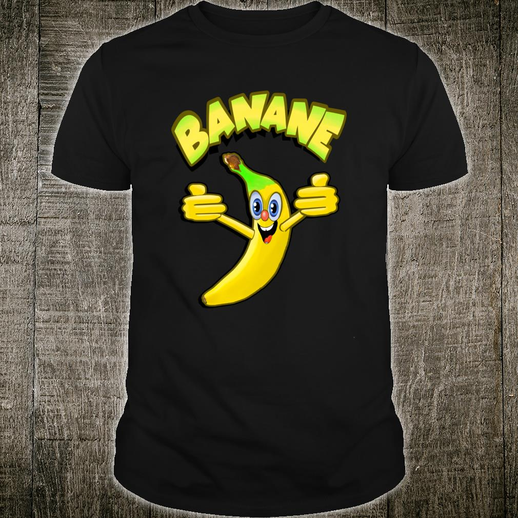 Witzige Banane Shirt