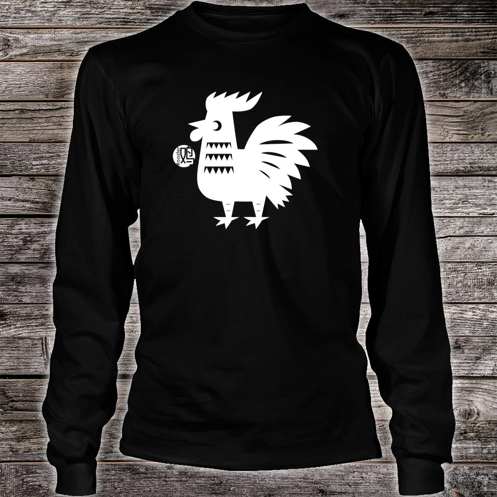 Year of The Rooster Chinese Zodiac Lunar New Year Shirt long sleeved