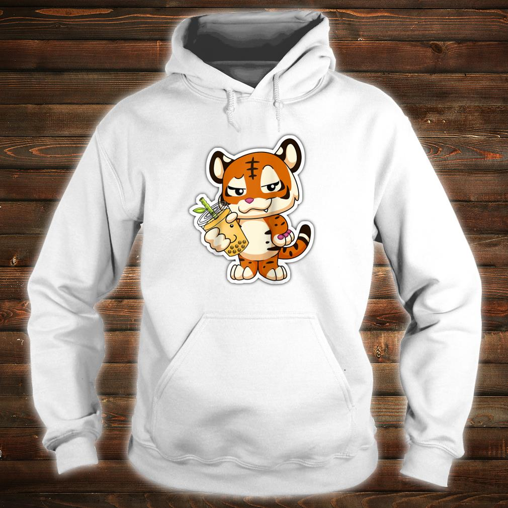 Year of the Dragon Lit Bubble Boba Tea Chinese Zodiac Shirt hoodie