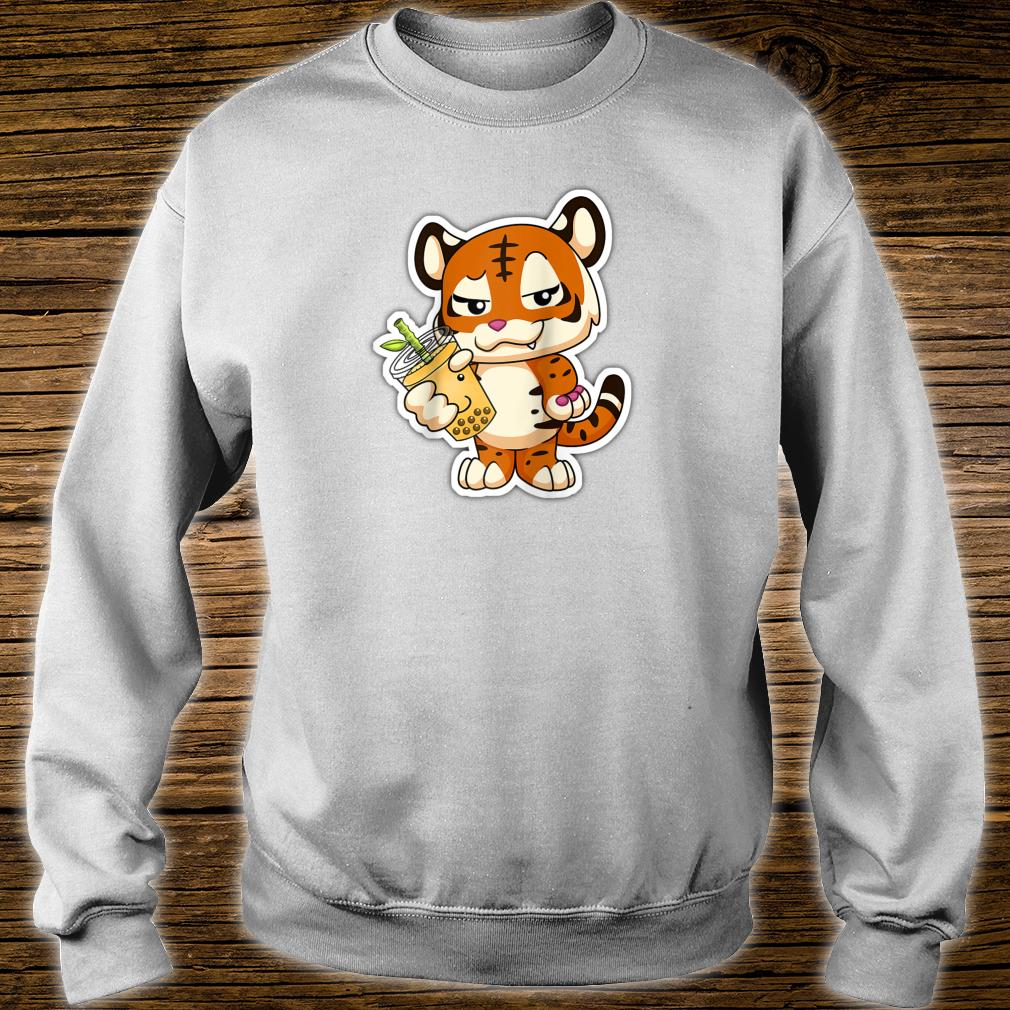 Year of the Dragon Lit Bubble Boba Tea Chinese Zodiac Shirt sweater