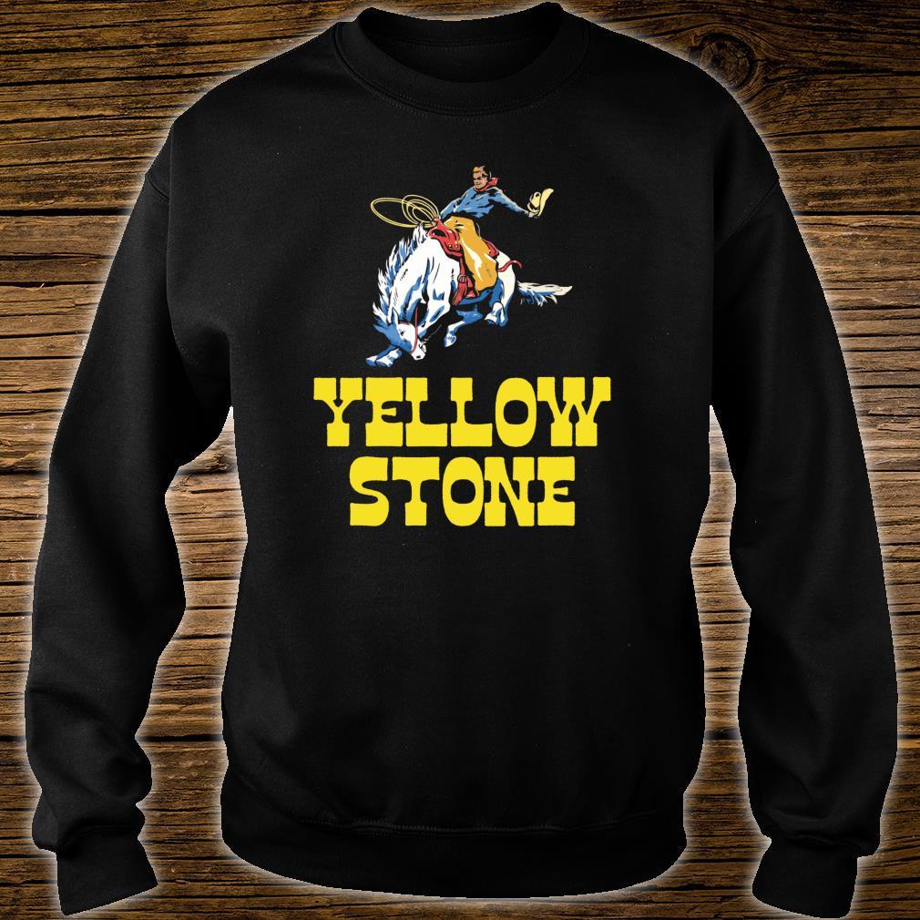 Yellowstone National Park Cowboy & Horse Vintage Shirt sweater