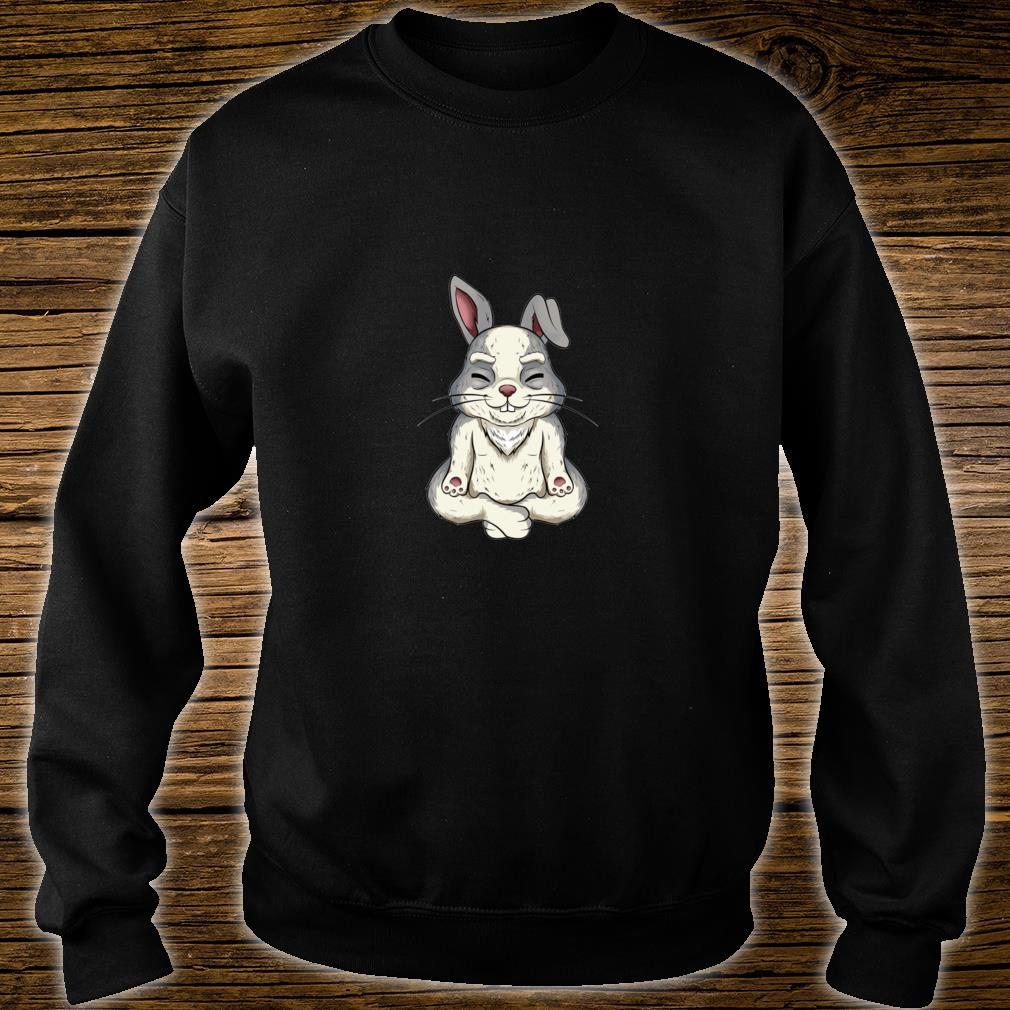 Yoga bunny rabbit Shirt sweater