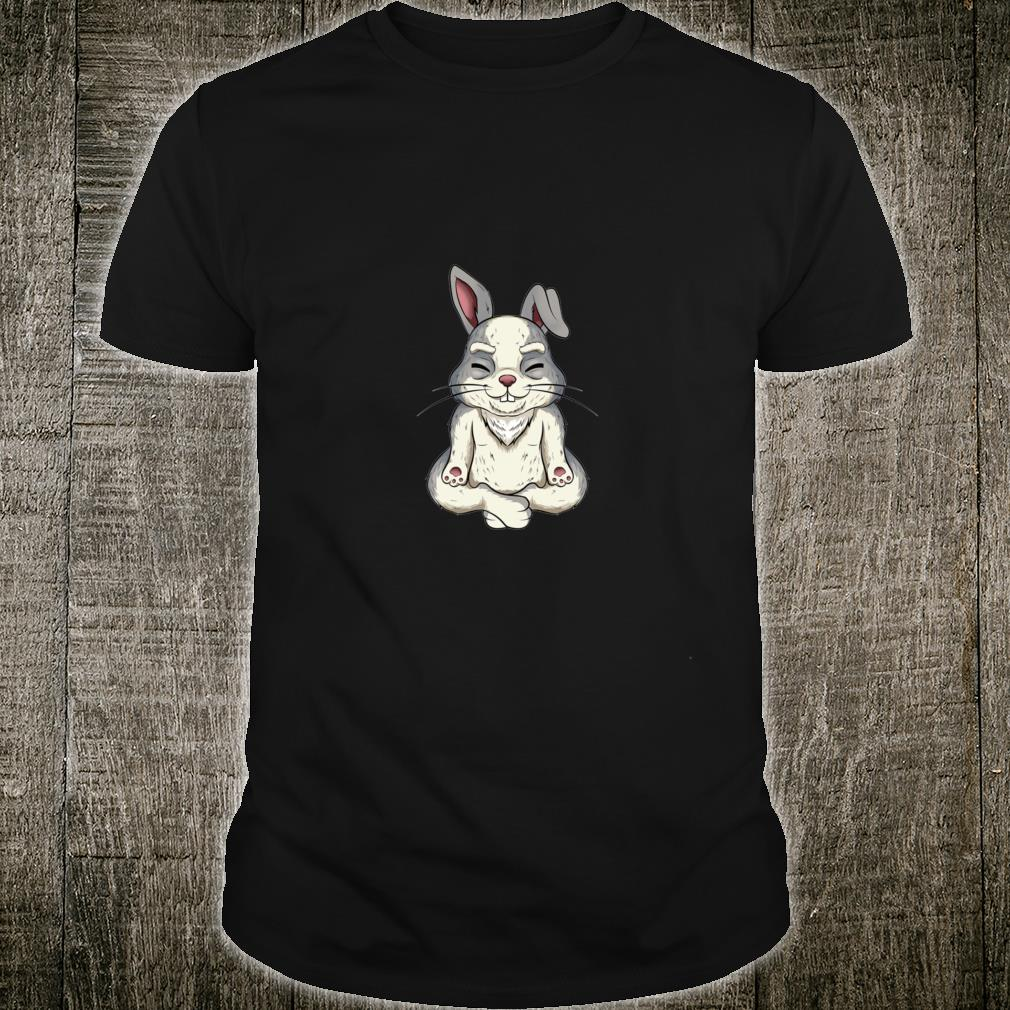 Yoga bunny rabbit Shirt