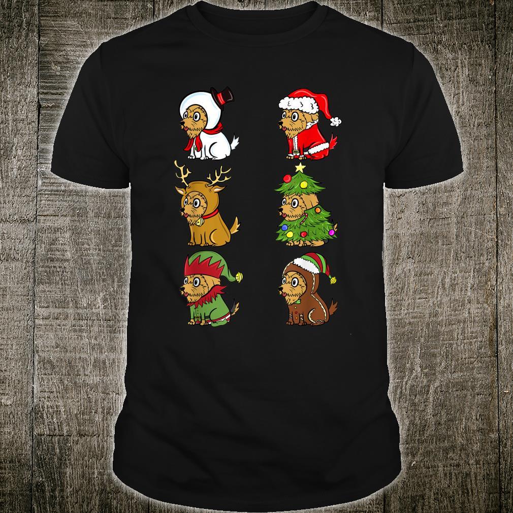 Yorkshire Terrier Weihnachten Kostüme Weihnachten Hund Shirt